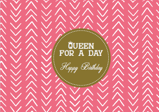 [SS2403] QUEEN FOR A DAY HAPPY BIRTHDAY