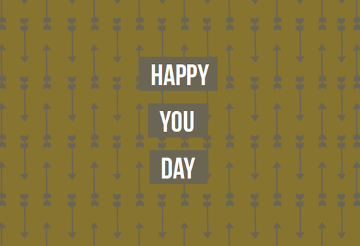 [SS2410] HAPPY YOU DAY