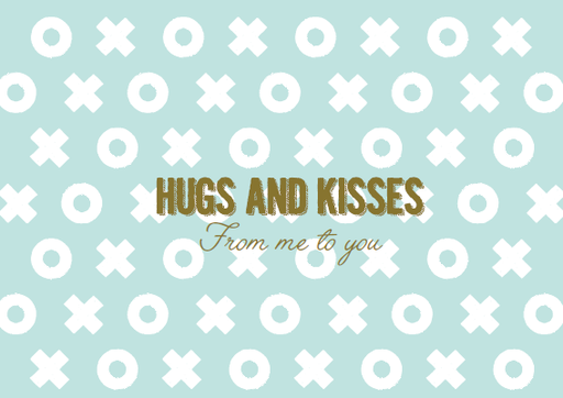[SS2411] HUGS AND KISSES FROM ME TO YOU
