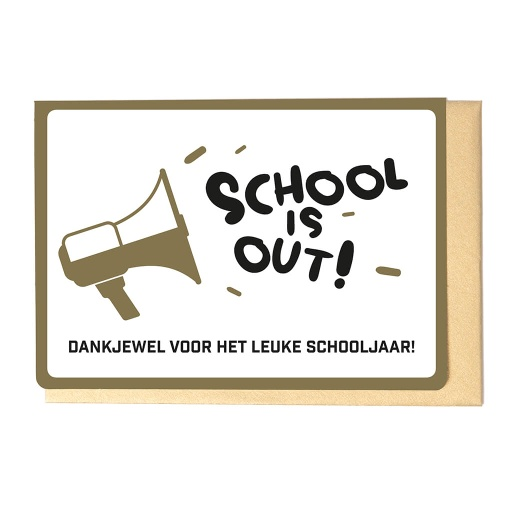 [ESJ3613] SCHOOL IS OUT!
